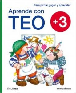 Los libros de Teo | Aprende con Teo +3