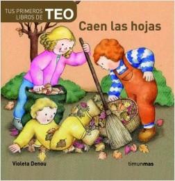 Los libros de Teo | Caen las hojas | +1 año