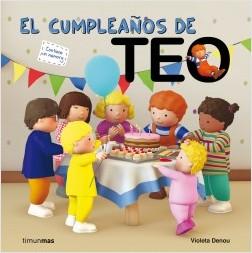 Los libros de Teo | El cumpleaños de Teo | +3 años