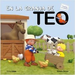 Los libros de Teo | En la granja de Teo | +3 años