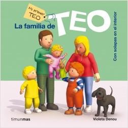 Los libros de Teo | La familia de Teo | +1 año
