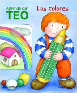 Los libros de Teo | Los colores | +3 años
