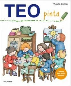 Los libros de Teo | Pinta | +1 año