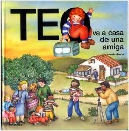 Los libros de Teo | Teo va a casa de una amiga | +3 años