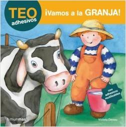 Los libros de Teo | ¡Vamos a la granja! | +3 años