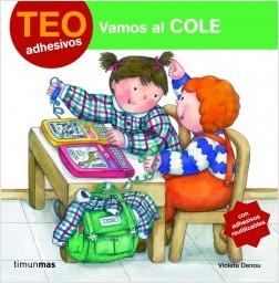 Los libros de Teo | Vamos al cole | +3 años