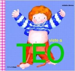 Los libros de Teo | Viste a Teo | +3 años