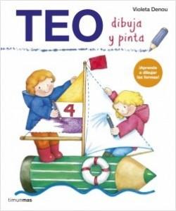 Los libros de Teo | Dibuja y pinta | +3 años