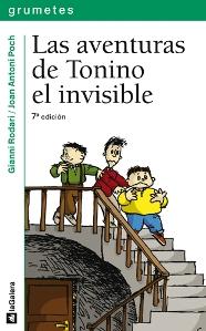 Gianni Rodari libros de cuentos | Las aventuras de Tonino el invisible| +10 años
