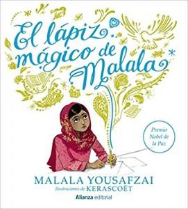 Libros feministas para niñas, niños y jóvenes | El lápiz mágico de Malala | +5 años
