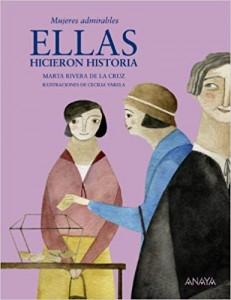 Libros feministas para niñas, niños y jóvenes | Ellas hicieron historia | +8 años