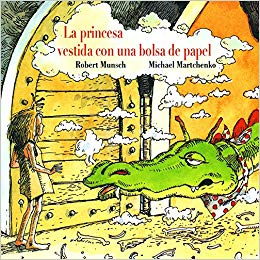 Libros feministas para niñas, niños y jóvenes | La princesa vestida con una bolsa de papel | +4 años