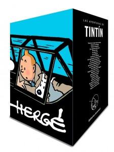 Las aventuras de Tintín | Libros en español | Tintín cofre aniversario