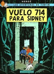 Las aventuras de Tintín | Libros en español | Vuelo 714 para Sídney