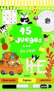 Juegos de ingenio para niños | 45 juegos ¡de viaje!