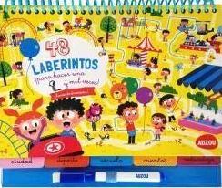 Juegos de ingenio para niños | 48 Laberintos hacer una y mil veces