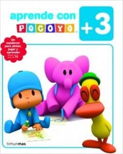 Juegos de ingenio para niños | Aprende con Pocoyó +3. Para pintar, jugar y aprender