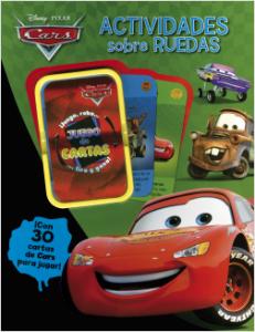 Juegos de ingenio para niños | Cars. Actividades sobre ruedas Con 30 cartas de Cars para jugar