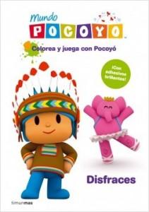 Juegos de ingenio para niños | Colorea y juega con Pocoyó. Disfraces. Libro de actividades con