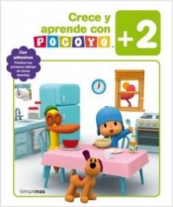 Juegos de ingenio para niños | Crece y aprende con Pocoyó +2. Con adhesivos. Practica tus primeros hábitos de forma divertida