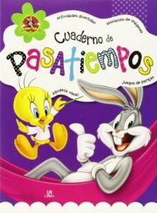 Juegos de ingenio para niños | Cuaderno de pasatiempos Looney Tunes