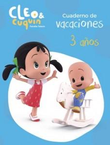 Juegos de ingenio para niños | Cuaderno de vacaciones Cleo y Cuquin 3 años