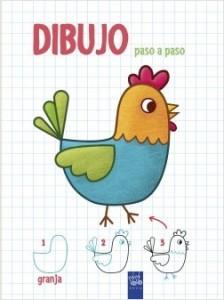 Juegos de ingenio para niños | Dibujo paso a paso. Granja