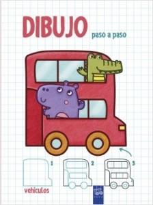Juegos de ingenio para niños | Dibujo paso a paso. Vehículos