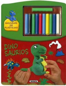 Manualidades con plastilina para niños | Dinosaurios. Animales de plastilina