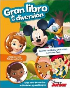 Juegos de ingenio para niños | Disney Junior. Gran libro de la diversión. Gran libro de cuentos, actividades y pasatiempos