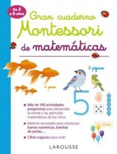 Juegos de ingenio para niños | Gran cuaderno Montessori de matemáticas