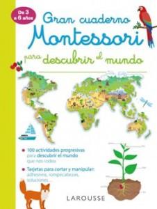 Juegos de ingenio para niños | Gran cuaderno Montessori para descubrir el mundo