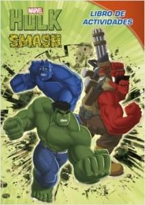 Juegos de ingenio para niños | Hulk. Libro de actividades