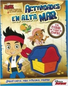 Juegos de ingenio para niños | Jake y los piratas. Actividades en alta mar
