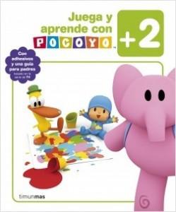 Juegos de ingenio para niños | Juega y aprende con Pocoyó (+2). Con adhesivos y una guía para padres