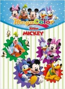 Juegos de ingenio para niños | La casa de Mickey Mouse. Megacolor