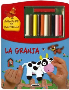 Manualidades con plastilina para niños | La granja. Animales de plastilina