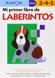 Juegos de ingenio para niños | Mi Primer Libro de Laberintos