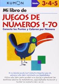 Juegos de ingenio para niños | Mi libro de juegos de números 1-70