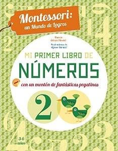 Juegos de ingenio para niños | Mi primer libro de números. Montessori un mundo de logros