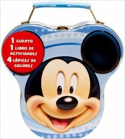 Juegos de ingenio para niños | Mickey Mouse. Cajita metálica