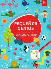 Juegos de ingenio para niños | Mis primeros pasatiempos (Pequeños genios)