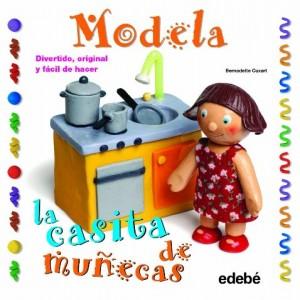 Manualidades con plastilina para niños | Modela la casita de muñecas