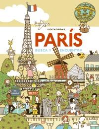 Juegos de ingenio para niños | París. Busca y encuentra