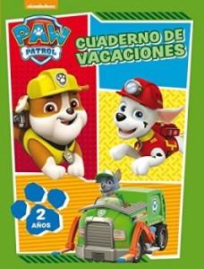 Juegos de ingenio para niños | Paw Patrol. Cuaderno de vacaciones - 2 años