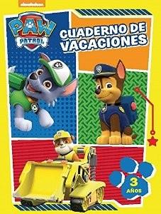 Juegos de ingenio para niños | Paw Patrol. Cuaderno de vacaciones de La Patrulla Canina 3 años