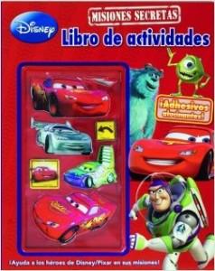 Juegos de ingenio para niños | Pixar. Misiones secretas. Libro de actividades