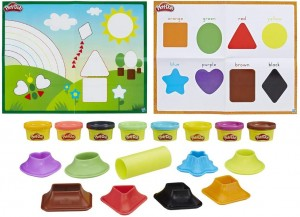 Manualidades con plastilina para niños | Play-Doh. Aprende colores y formas