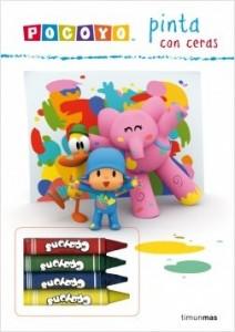 Juegos de ingenio para niños | Pocoyó pinta con ceras