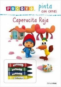 Juegos de ingenio para niños | Pocoyó pinta con ceras. Caperucita roja